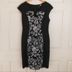 Connected Apparel Women's Embroidered Dress